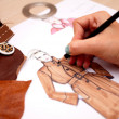 Fashion Design — Stockfoto