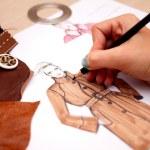 diseñar moda — Foto de Stock