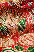 Sequin embroidery — Stock Photo
