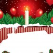 Royalty-Free Stock Vector Image: Christmas background with copy space