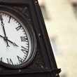 Parisian street clock  - Paris, France — Stock Photo