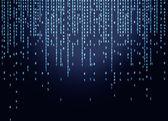 Binär kod — Stockfoto