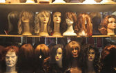 Wig shop — Stock Photo