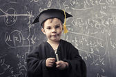 Little genius — Stock Photo