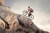 Bici di montagna — Foto Stock