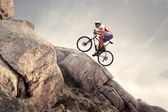 Mountain bike — Stock fotografie