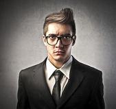 Infastidito, uomo d'affari — Foto Stock