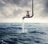 Kracht van het water — Stockfoto