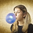 Bubble gum — Stock Photo