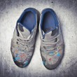 Artist&#039;s shoes - Stock Photo
