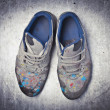Artist's shoes — Stock Photo