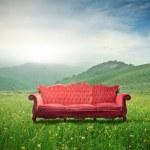 Sustainable furniture — Stock Photo
