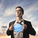 Superhero — Stock Photo