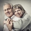 Stock Photo: Senior couple
