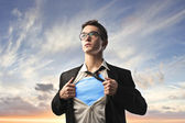 Süper kahraman — Stok fotoğraf