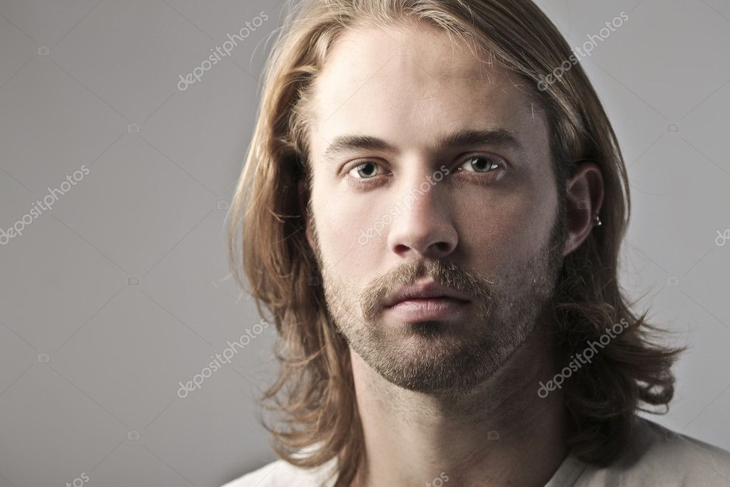 Portrait of a handsome young man — Stock Photo #7627534