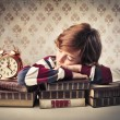 Tired child — Stockfoto