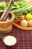 Cook ingredients — Stock Photo