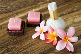 Frangipani flowers for spa concept — Stock Photo