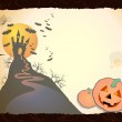 Fondo Halloween — Vector de stock  #6924647