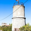 Stock Photo: Water tank, Mogadouro, Portugal