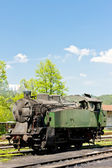 Steam locomotive, delivery point in Oskova, Bosnia and Hercegovi — Stock Photo