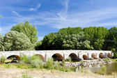 Old bridge near Tordomar, Castile and Leon, Spain — Stock Photo