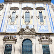 Church with azulejos (tiles), Porto, Douro Province, Portugal - Foto de Stock