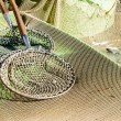 Stock Photo: Landing nets