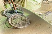 Landing nets — Stock Photo