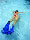 Snorkeling — Foto Stock