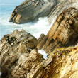 Stock Photo: Cliffs at Sao Pedro de Moel