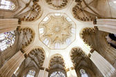 Interior of Santa Maria da Vitoria Monastery, Batalha, Estremadu — Stock Photo