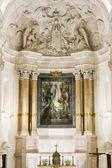 Interior of Sanctuary of Our Lady of Fatima, Fatima, Estremadura — Stock Photo