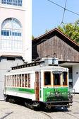 电车博物馆在波尔图 — 图库照片