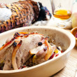 Baked pheasant — Stock Photo