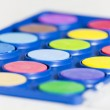 Stock Photo: Watercolor palette