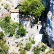 Stock Photo: Hermitage in Galamus Gorge