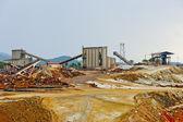 Copper mine, Minas de Riotinto, Andalusia, Spain — Stock Photo