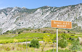 Vineyars, Languedoc-Roussillon, France — Stock Photo