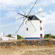Windmill near Beja, Alentejo, Portugal — Stock Photo #7842042
