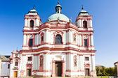 Basilica in Jablonne v Podjestedi, Czech Republic — Stock Photo