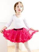 Girl as a dancer — Stock Photo
