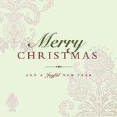 Vektorové pastelové vánoční pozadí pro pozvánky — Stock vektor