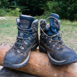 Hikers boots — Stock Photo