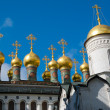 Fragment of exterior of cathedral in Moscow Kremlin — Stock Photo
