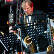 Russian jazz musician Igor Butman performs — Stock Photo #7093548