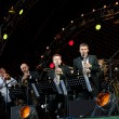 Igor Butman and his band performing — Stock Photo #7093555