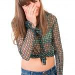 Teen girl crying — Stock Photo #7093557