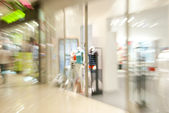 Storefront of clothing shop — Stock Photo